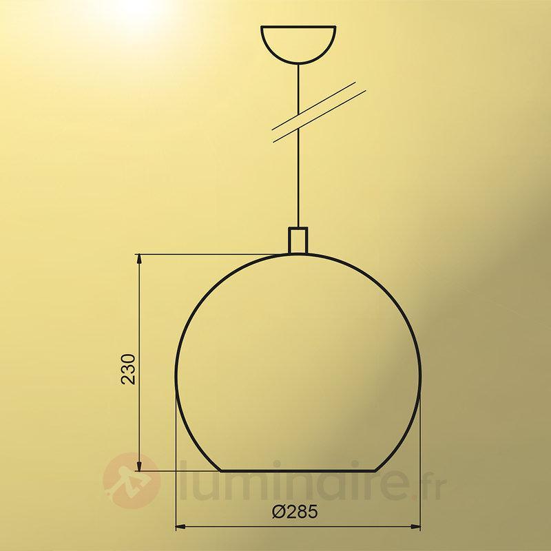 Suspension Bulle chrome - Suspensions design