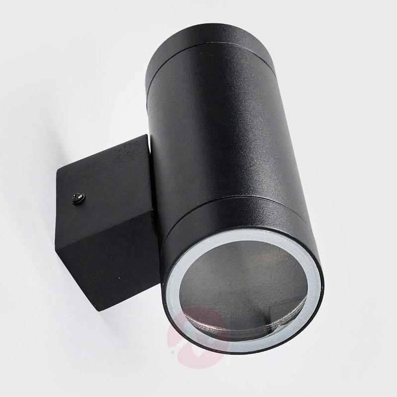 Tin Maxi Double outdoor wall lamp black - Outdoor Wall Lights