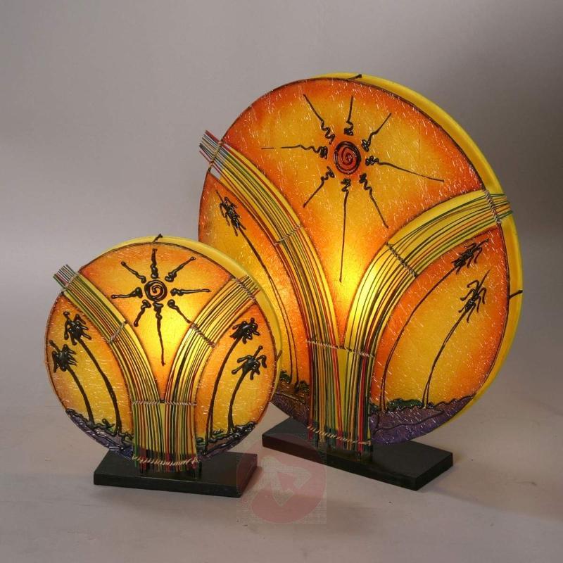 Fantastic NAOMI table lamp 35 cm high