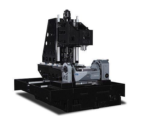 5-Achs-BAZ mit Dreh-Schwenktisch - VTX Ui WZW 96 - 5-Achs Dreh-Schwenktisch erleichtert die 5-Achs-Bearbeitung