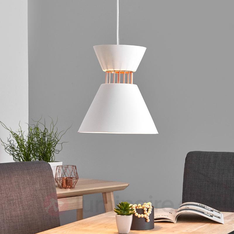 Lampe moderne en plâtre - suspension Morina - Cuisine et salle à manger