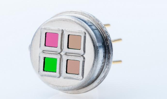 Vierkanal Thermopile Detektor TS4x200B-A-S1.5