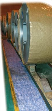 Rouleau absorbant hydrocarbures, tapis double... - RH 4448-2 AR Absorbants fibres et granulés
