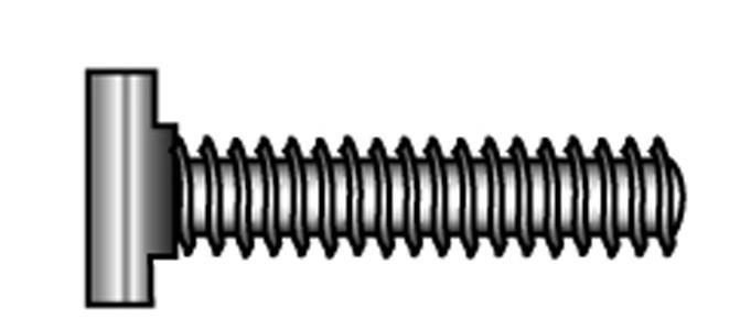 Ankerschienenschrauben, Ausführung: Typ 28/15 - Material A2 | A4