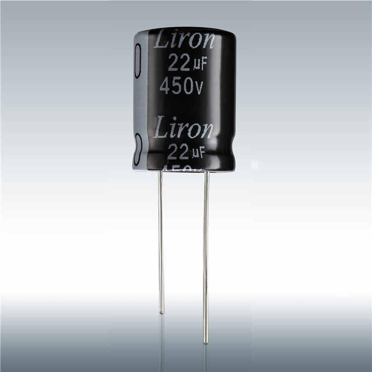 Liron PS standard dounsized radial capacitor from chinese capacitor factory - RADIAL CAPACITOR