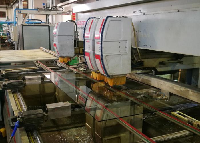 BUSETTI PLUSDRILL - Year 2002 - CNC Drilling Machine