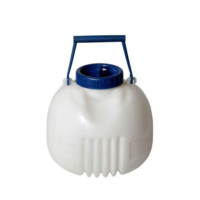8LPE Cattle/Cow/Goat/sheep Quarter Milker With Silicone Pipe - cow quarter milker 8L for the portable milking machine