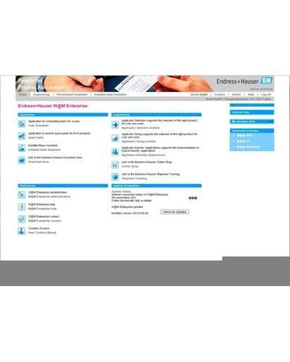 W@M Enterprise - Effektive Verwaltung Ihrer installierten Basis während des gesamten Lebenszyklus
