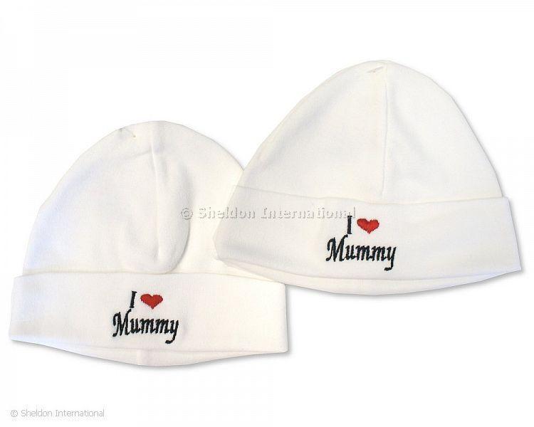 Baby Cotton Hat - I Love Mummy - Hats
