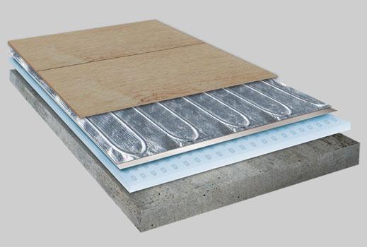 ANZE Wood Warm-Foil Calefacción Mat