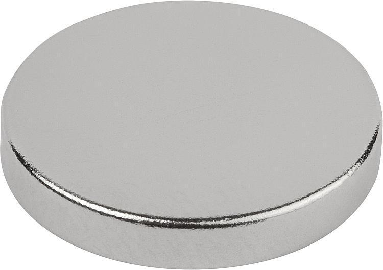 Magnets Raw Ndfeb, Disc Form - Magnets