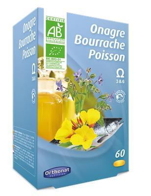 Onagre Bourrache Poisson - Complément alimentaire