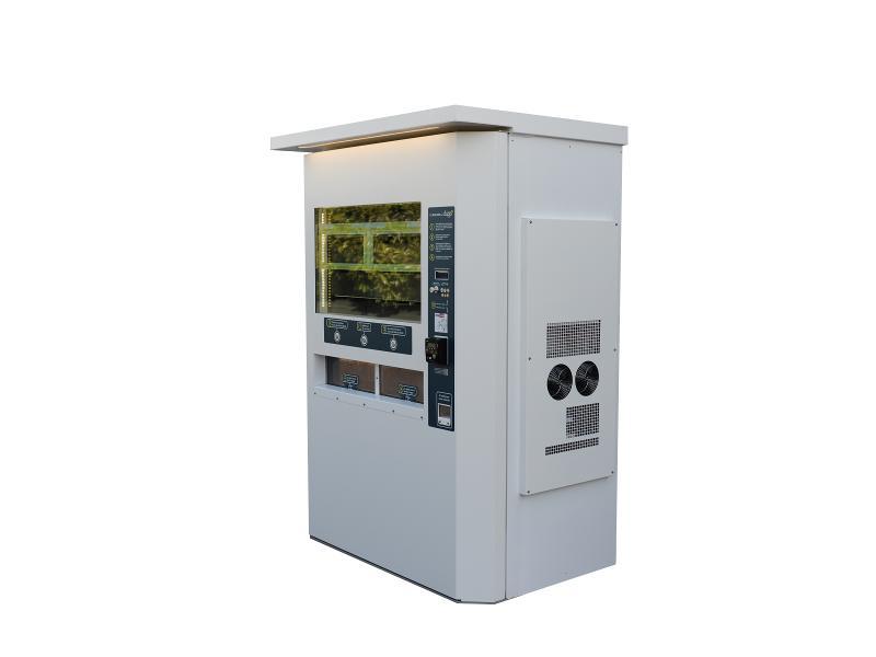 Kiosque réfrigéré 40 compartiments - null