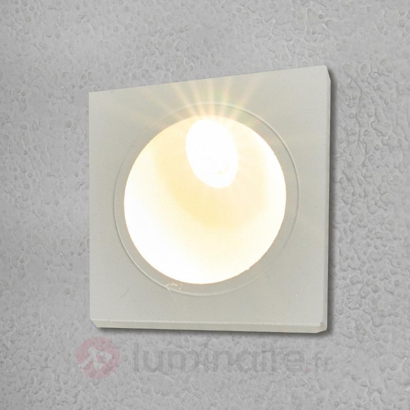Spot encastré dans le mur LED Ian, extérieur - Appliques d'extérieur encastrées