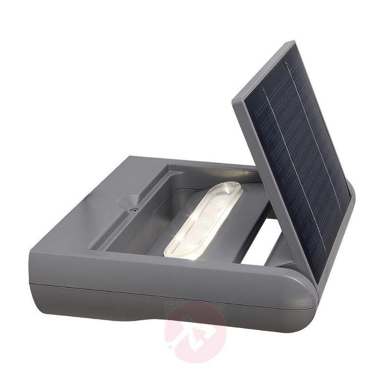 Dimmable Mini LEDSpot LED solar ext. wall light - Solar Wall Lights