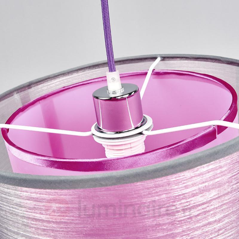 Suspension coloré en tissu Jasna - Suspensions en tissu