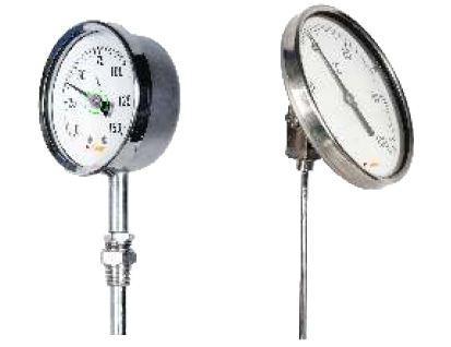 Temperature Gauges - Bimetallic Thermometer