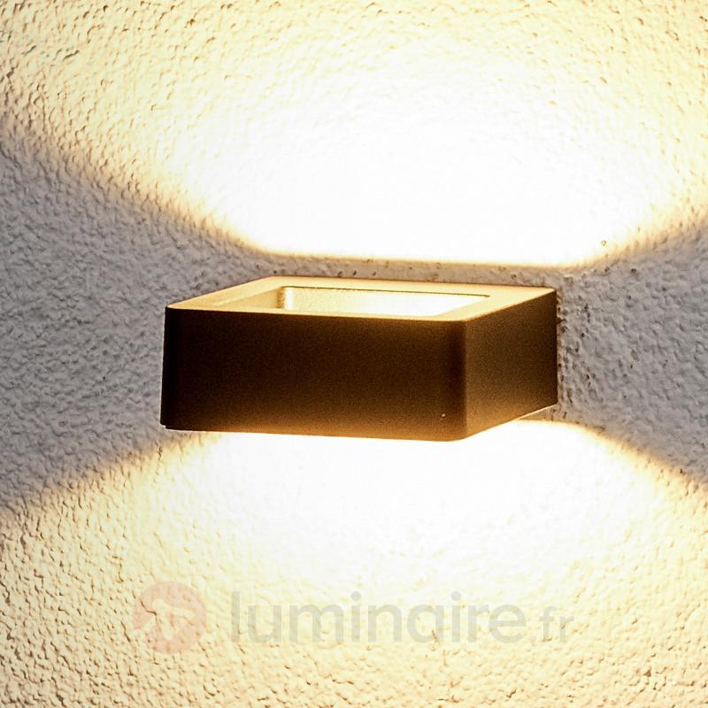 Applique ext. LED à éclairage indirect Julian - Appliques d'extérieur LED