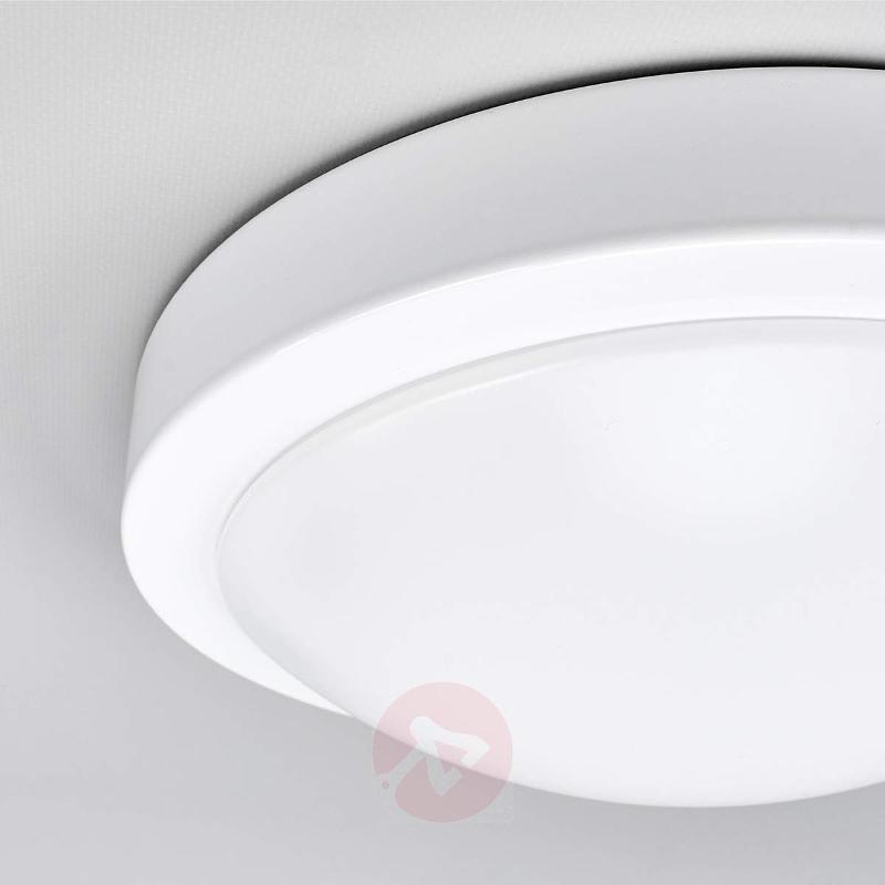 Aras white bathroom LED ceiling lamp - Ceiling Lights