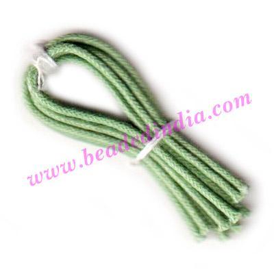 Cotton Wax Cords 1.0mm (one mm) Round - Cotton Wax Cords 1.0mm (one mm) Round