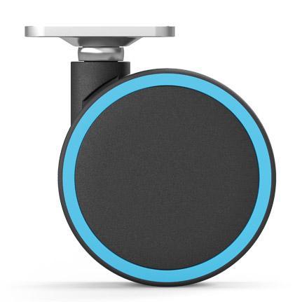 roulette design personnalisable - pour l'ameublement