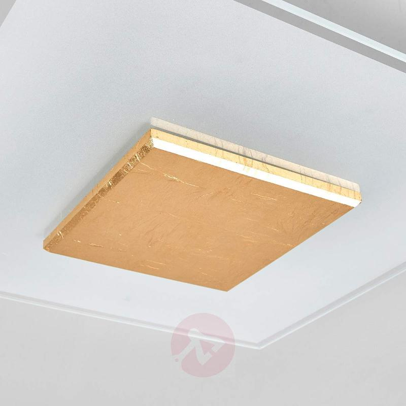 High-quality LED ceiling lamp Lole, glass shade - Ceiling Lights