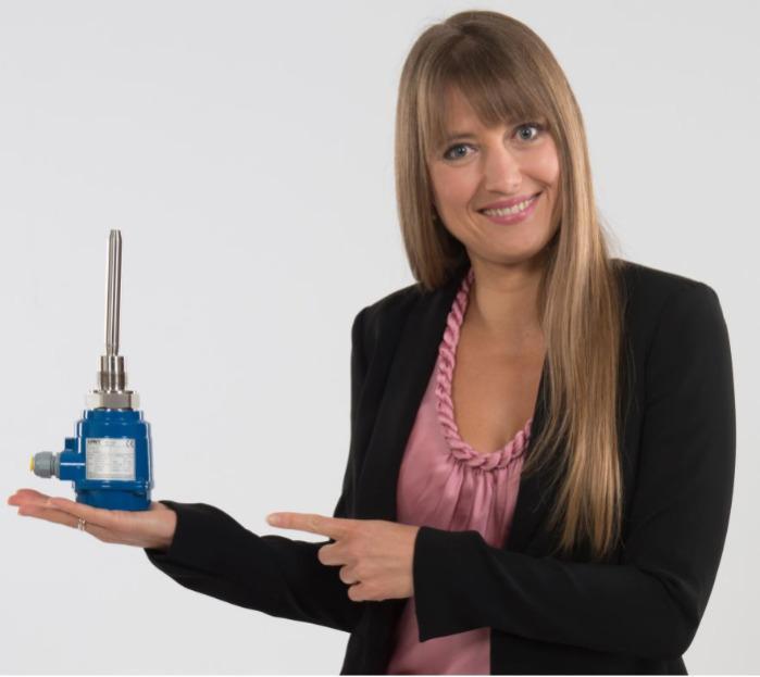 La tige vibrante - Mononivo® MN4000 - La tige vibre piezoélectriquement - Détecteur de plein, de besoin ou de vide