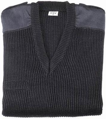 Suits Bodywear - COMMANDO PULLOVER - ACRYLIC WOOL V-NECK COLLAR