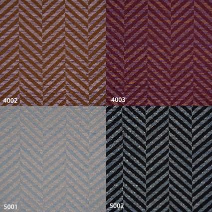 Coussins, plaids et chemins de lit - Paire de coussins rectangulaires 45/70cm motif chevron