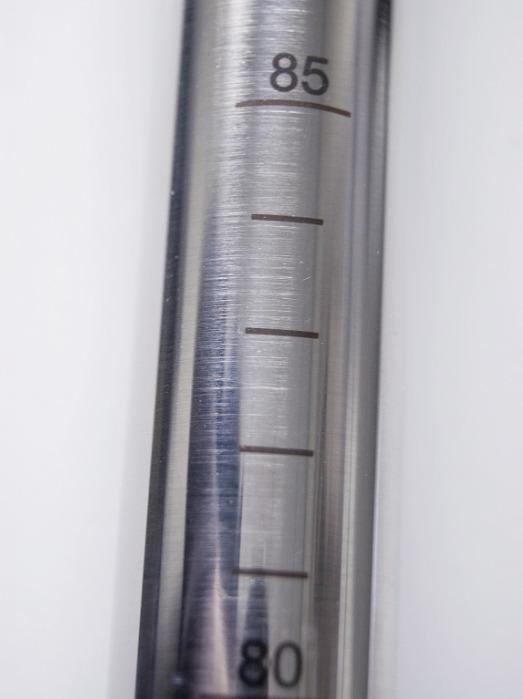 Novartos Uno - Sampler for targeted sampling, stainless steel V4A