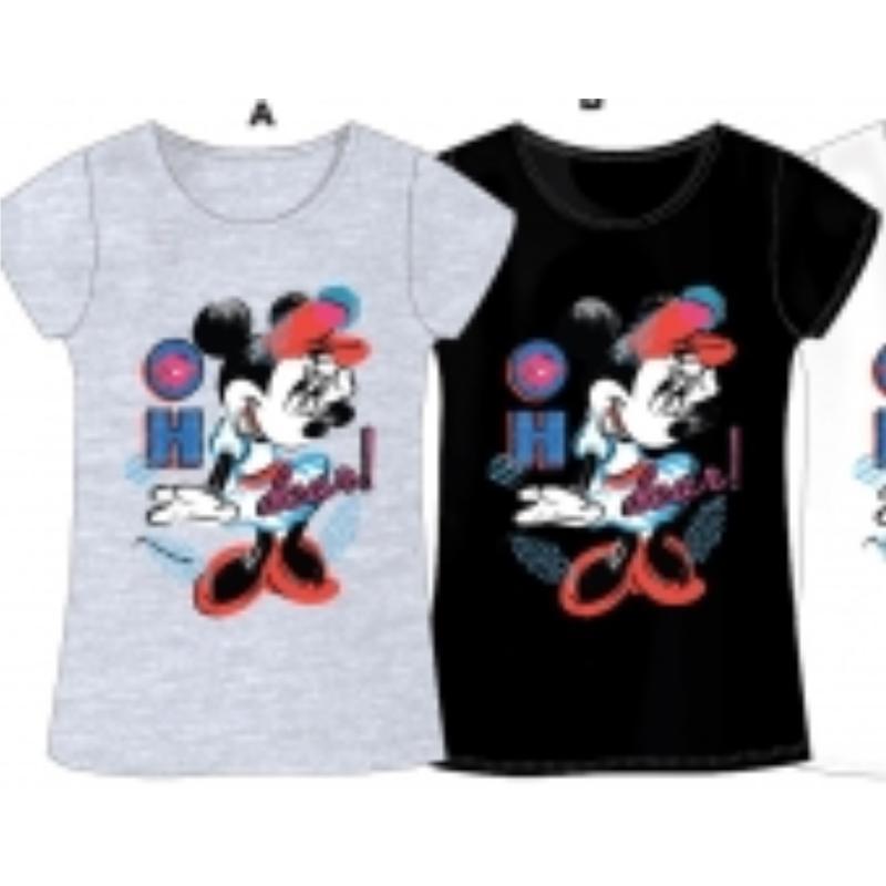 Fabricant de T-shirt manches courtes Minnie du 6 au 12 ans - T-shirt et Polo manches courtes