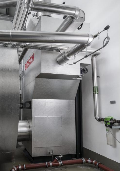 Bosch Теплообменник отработанных газов ЕСО отдельно стоящий - Bosch Теплообменник отработанных газов