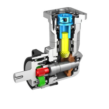 IB Serie Typ PK1 - Präzisionsgetriebe