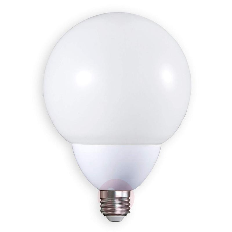 E27 9.5 W 827 LED globe bulb matt - light-bulbs