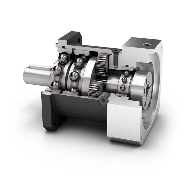 Planetary Gearbox PLQE - Economy Gearbox with Output Shaft - Spur gear - NEUGART
