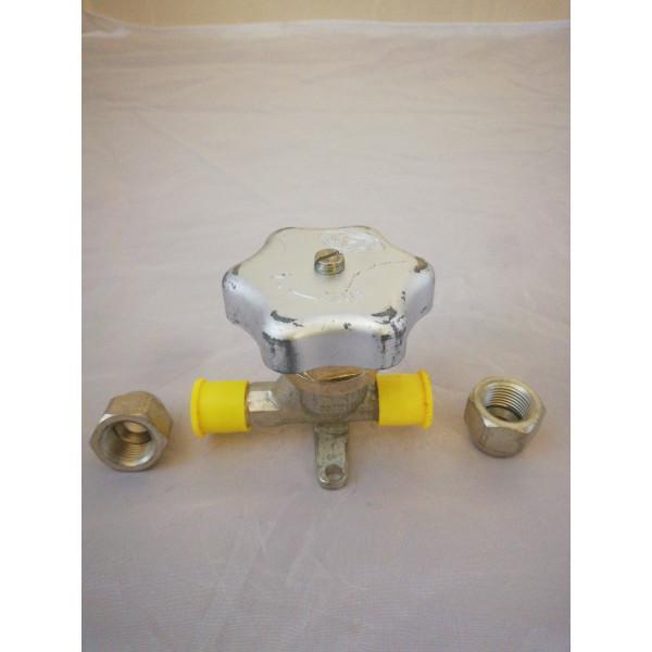 """Absperrventil HVD 10, 3/8"""" Bördelanschluss, 801123000 - Kälte Kreislaufteile"""