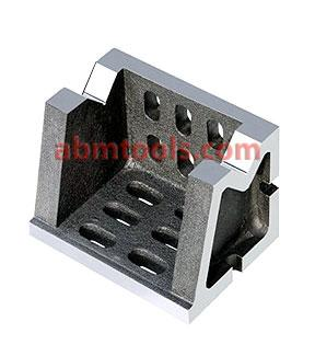 Vee Angle Blocks & Angle Plate Combined - A tool which may be utilized as a V- block or as an angle plate.