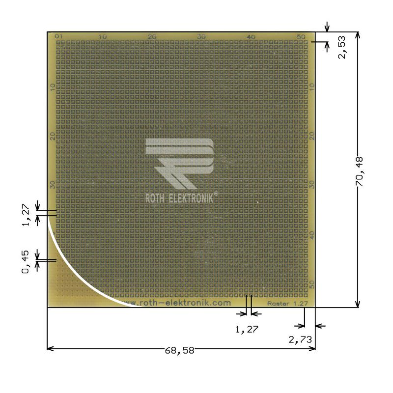 RE013-LF - Prototyping Boards Dual Inline