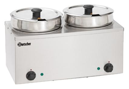 Bain-Marie Hotpot, 2 x Topf, 6,5 L - null