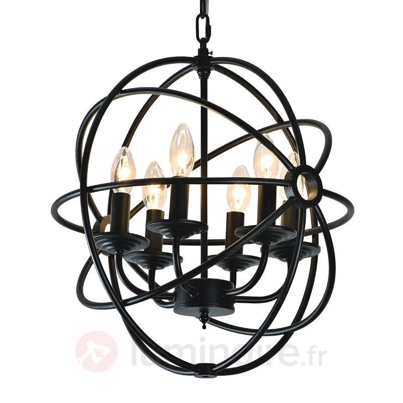 Lustre Cage original, 6 flammes - Tous les lustres