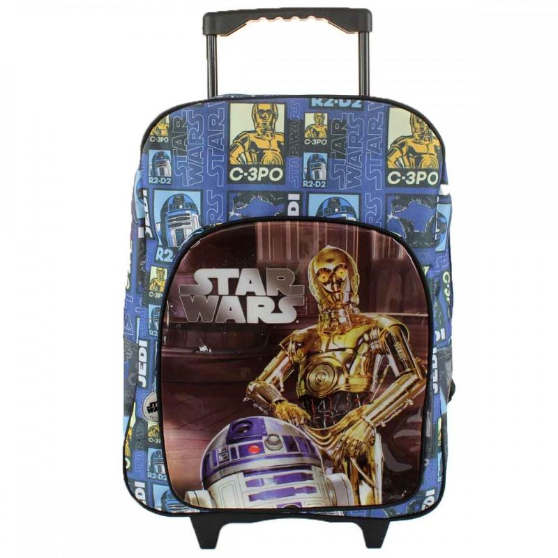 3x Trolleys Star Wars 41 cm - Sac et Sac à dos