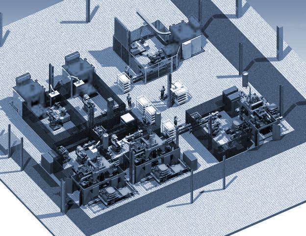 Anlagenbau - Halb- und vollautomatische Anlagen