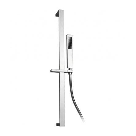 Saliscendi con doccia ottone e flessibile doppia... - saliscendi / ART.4175