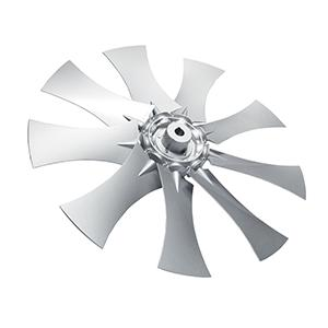 R Reversible airfoil profile axial impellers