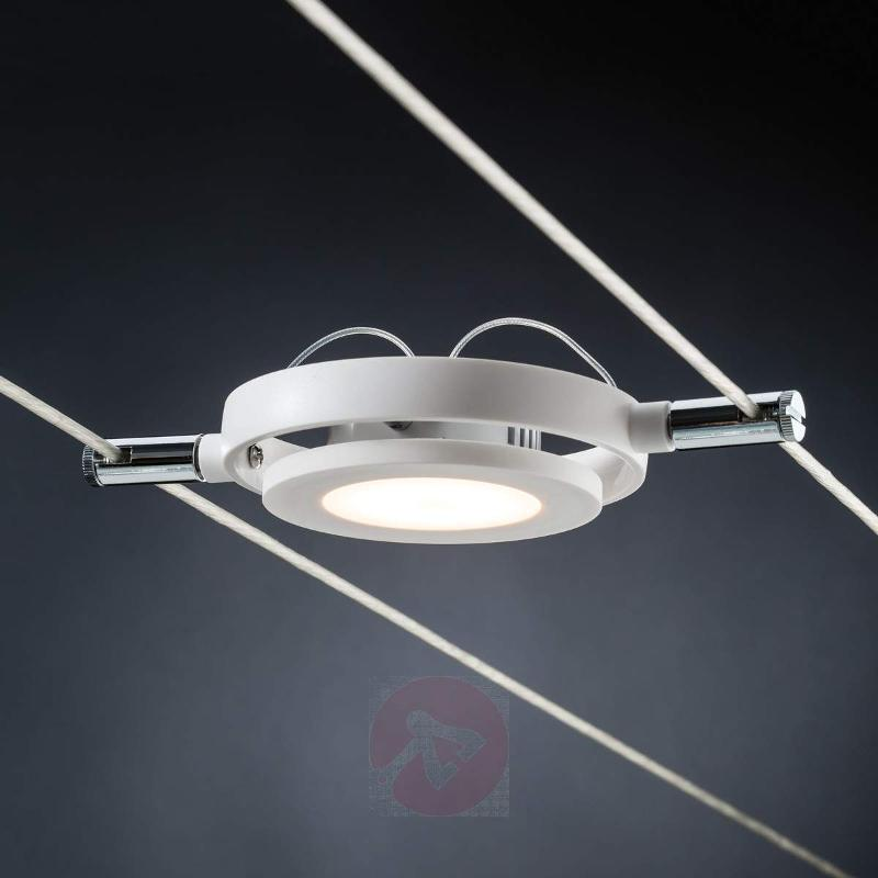 Six-bulb cable lighting system MacRound - Cable Lighting Kits