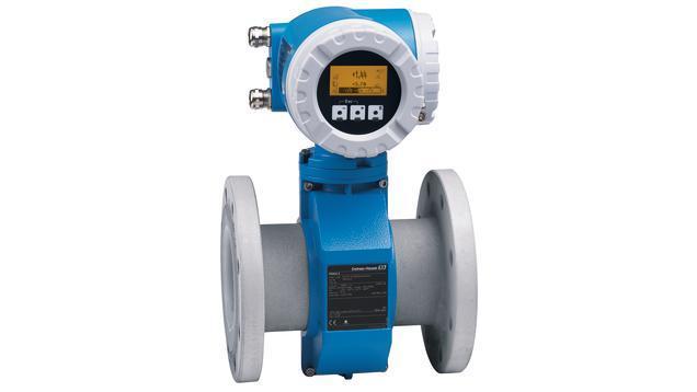 debit mesure produits - debitmetre eleectromagnetique promag 55S