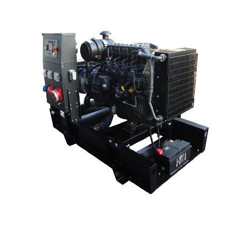 Stroomaggregaten - EUROMAX-4 generatoren - Euromax open