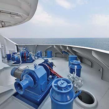 Anchor Windlass Mooring Winch