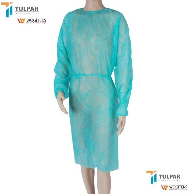 isolation gown cheap protection gowns disposable clothing  - SS  PP  isolation gown  hospital cheap  gowns disposable clothing SS material