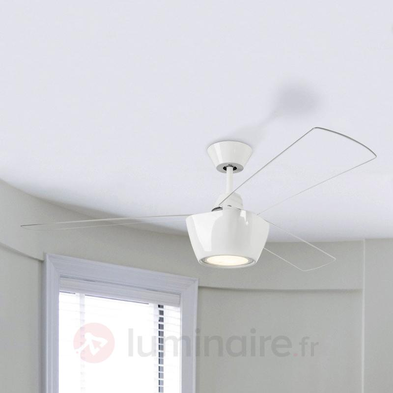 Ventilateur de plafond Ceos, design moderne à LED - Ventilateurs de plafond modernes